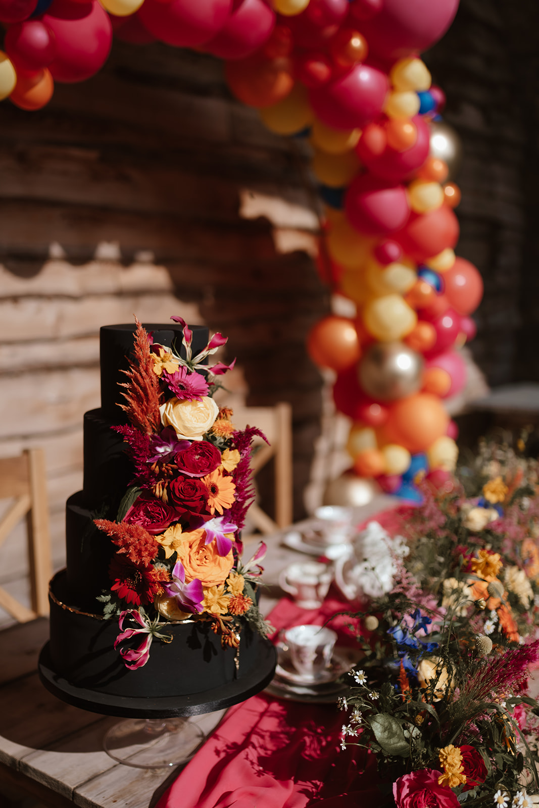 Colourful Tower Hill Barns Shoot