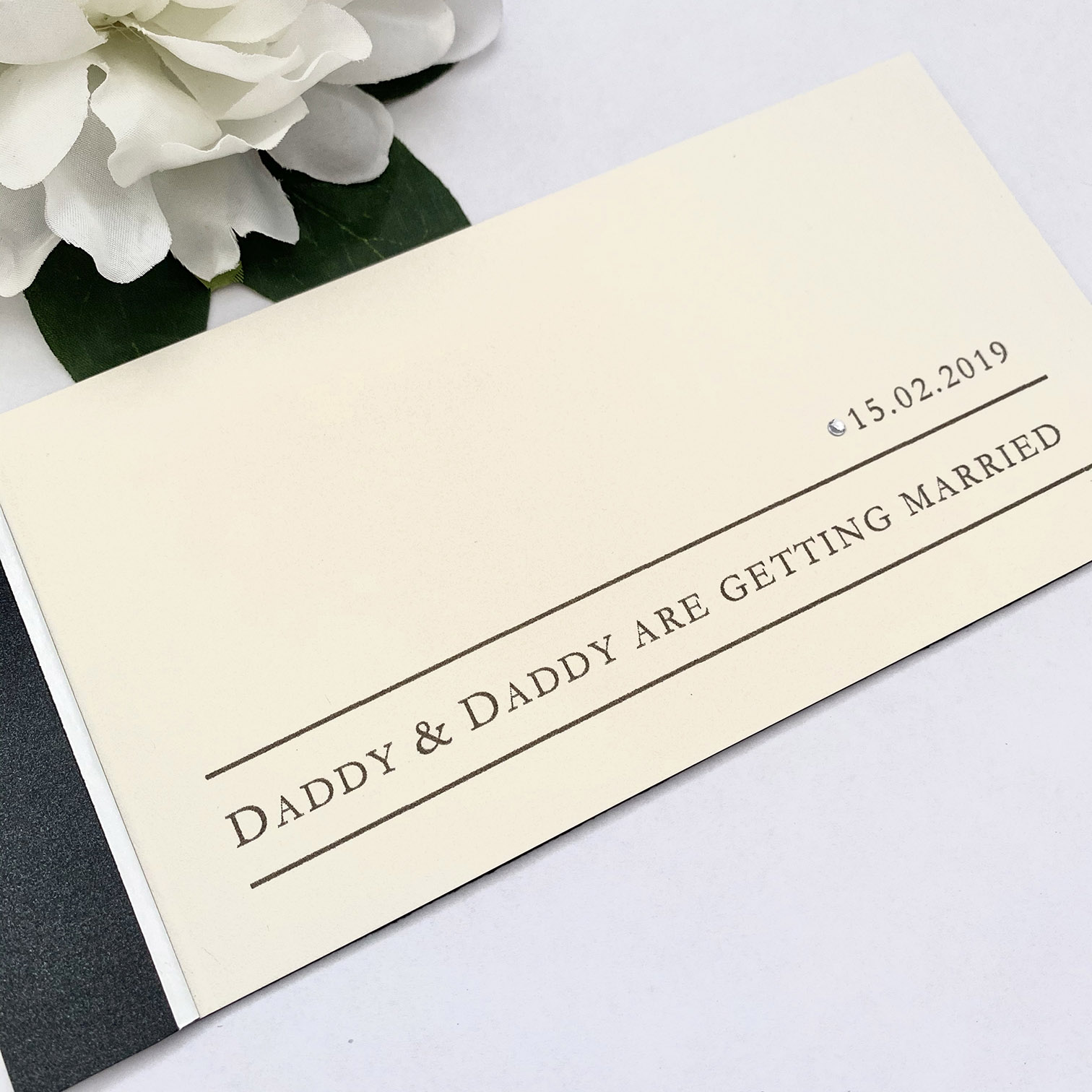 Daddy & Daddy cheque book in ivory, grey and silver (3) (1)
