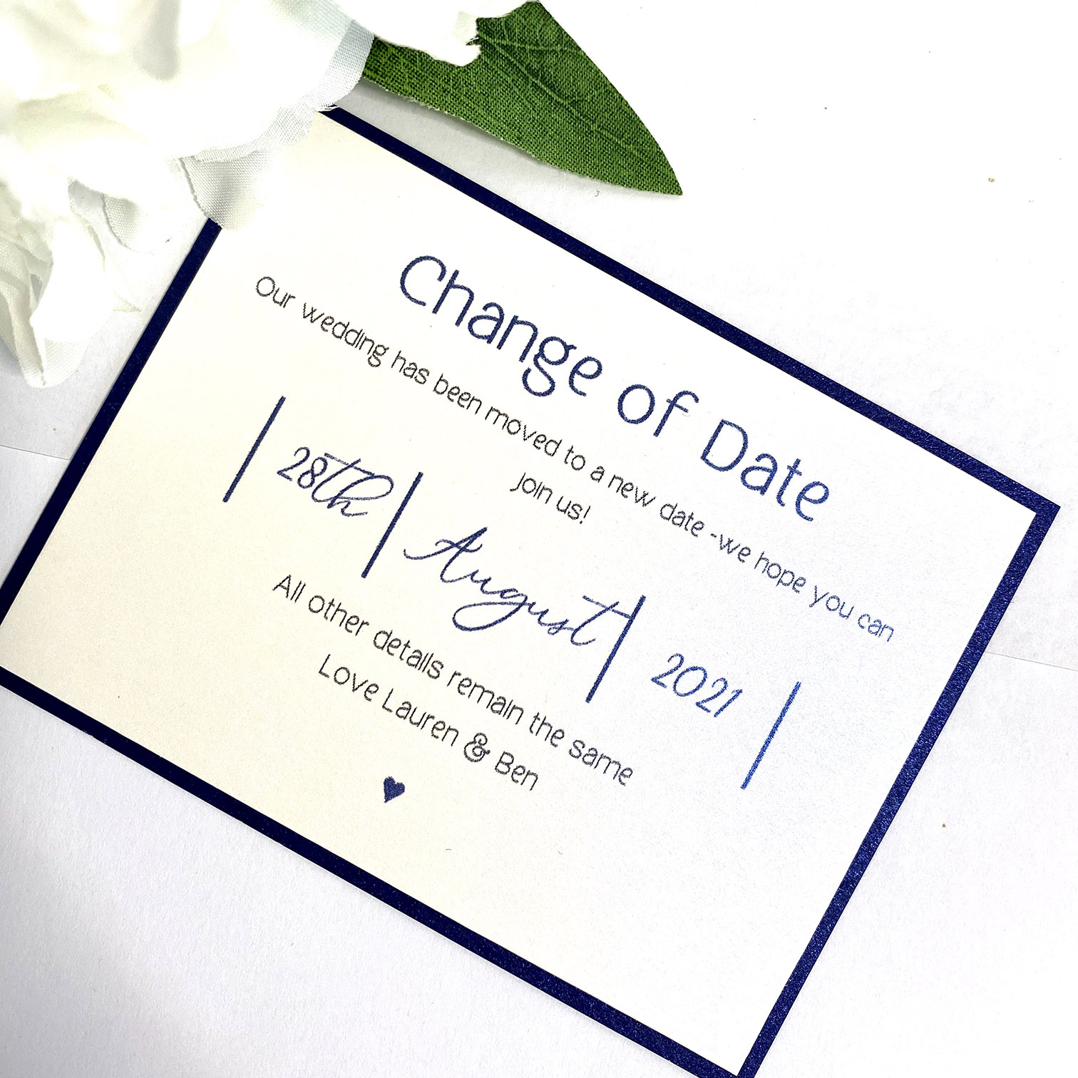 navy and white modern style simple change of date card (1) (2)