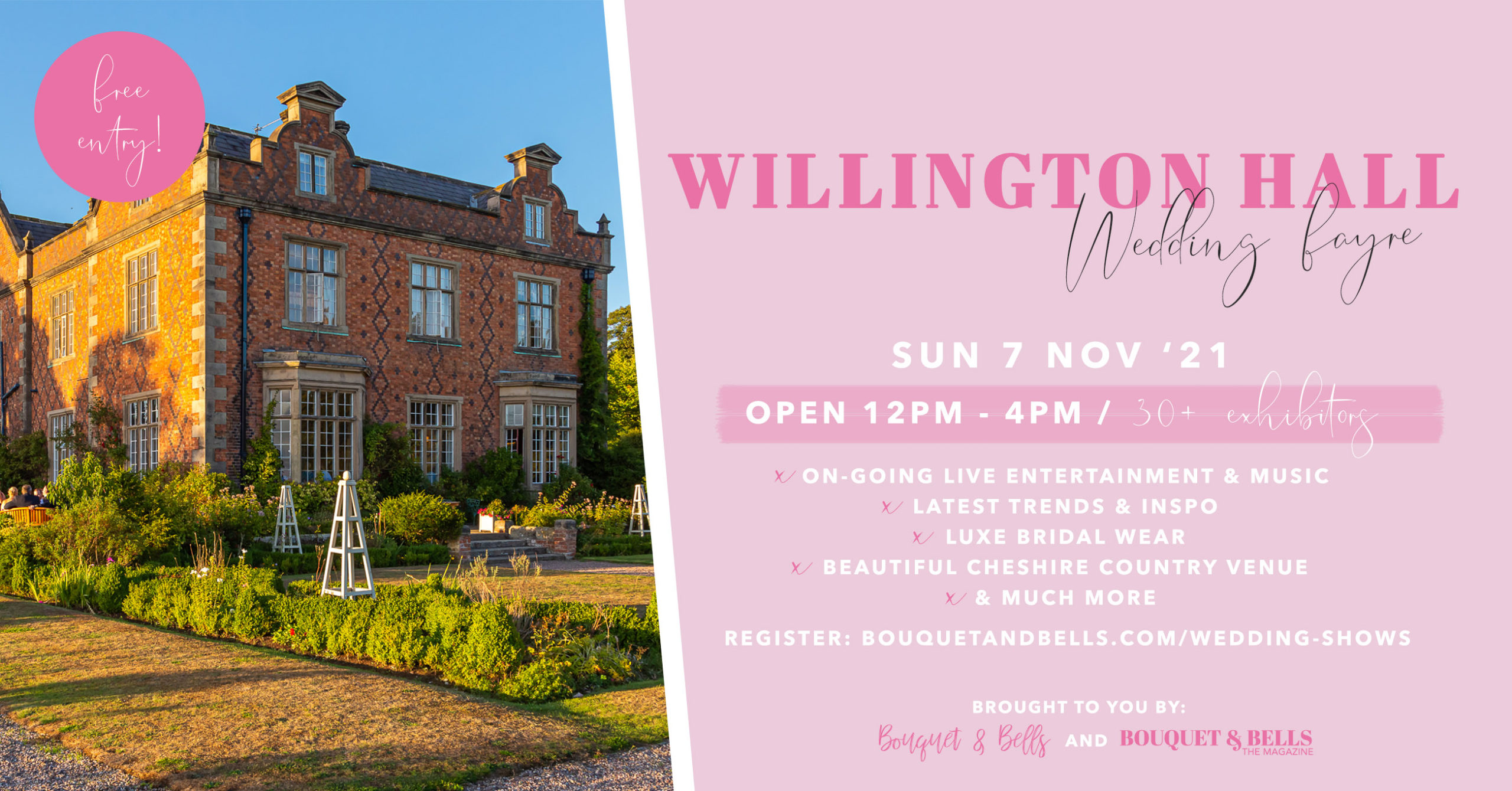 willington-hall-wedding-fayre-banner