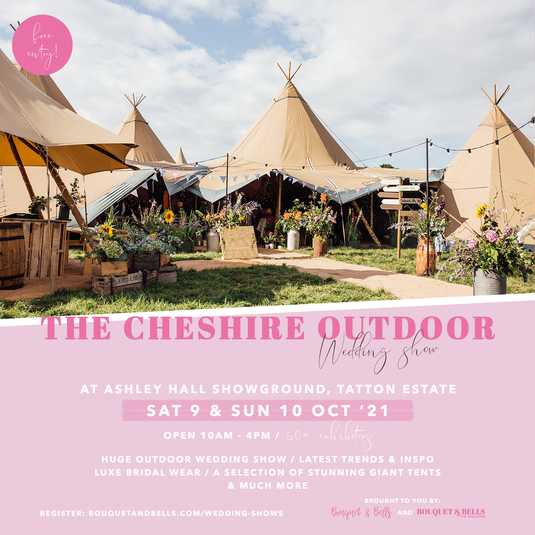 the-cheshire-outdoor-wedding-show-ashley-hall-showground-tatton-estate-bouquet-and-bells