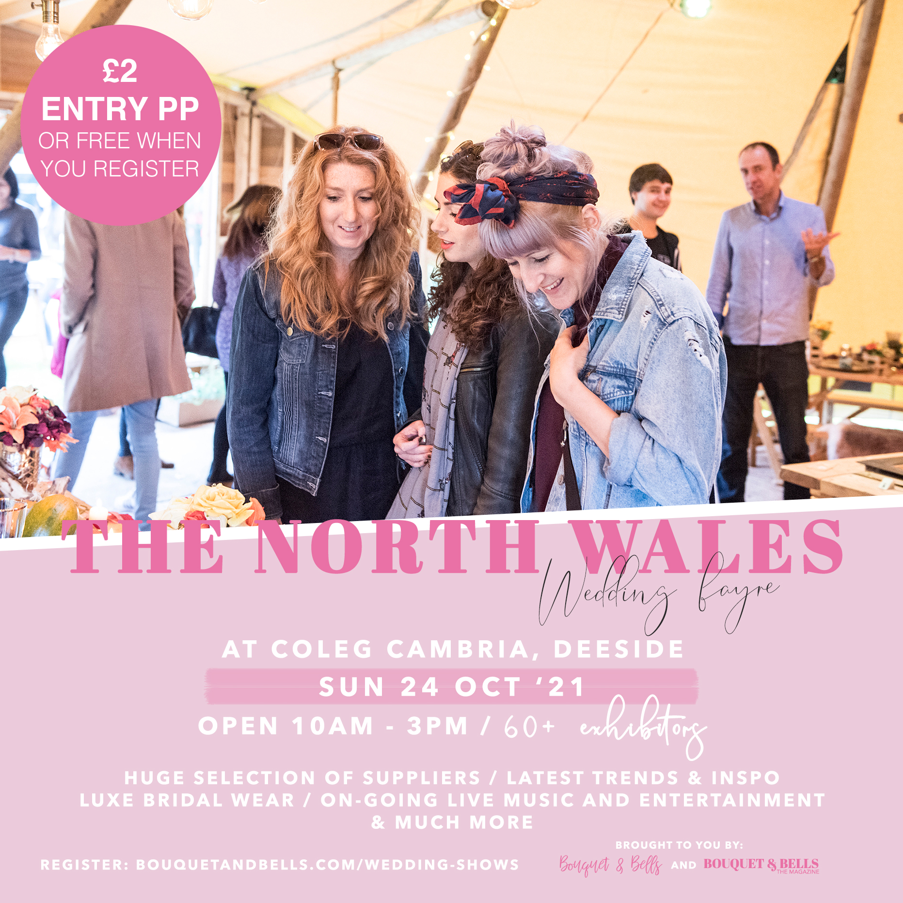 the-north-wales-wedding-fayre-coleg-cambria-bouquet-and-bells